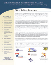 Best Practices Bulletin
